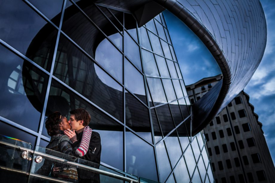 Edmonton Downtown Engagement Photos – Phil & Nana