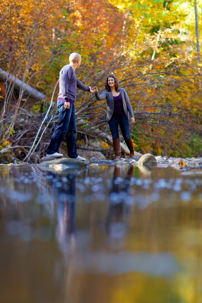 Mill Creek Ravine Engagement Pictures