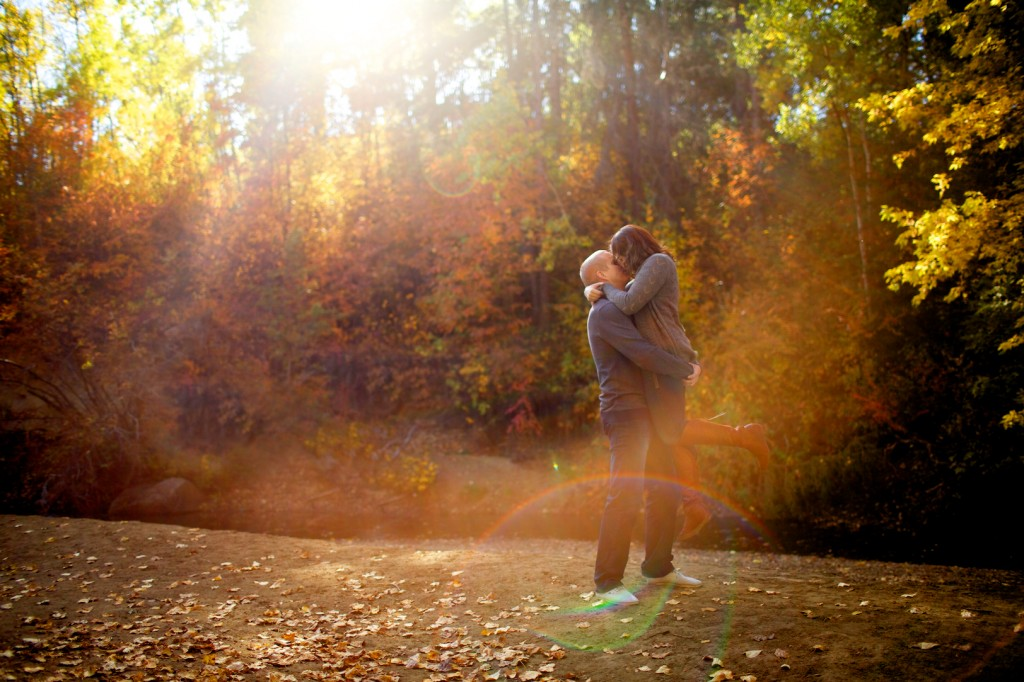 Autumn Engagement Mill Creek Ravine Pictures