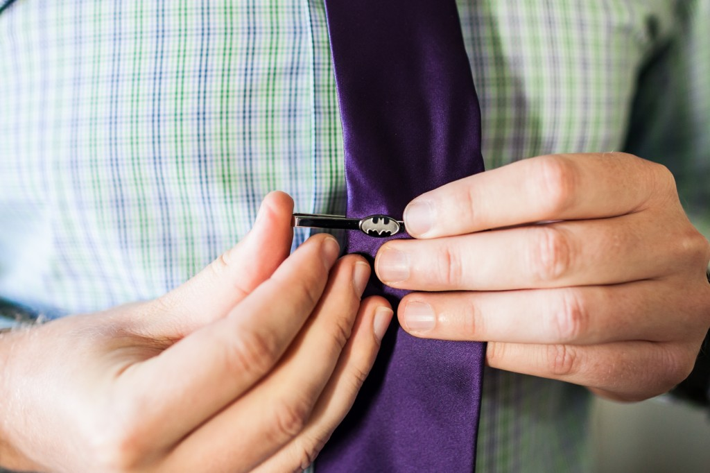 Creative Groom Tie Clip