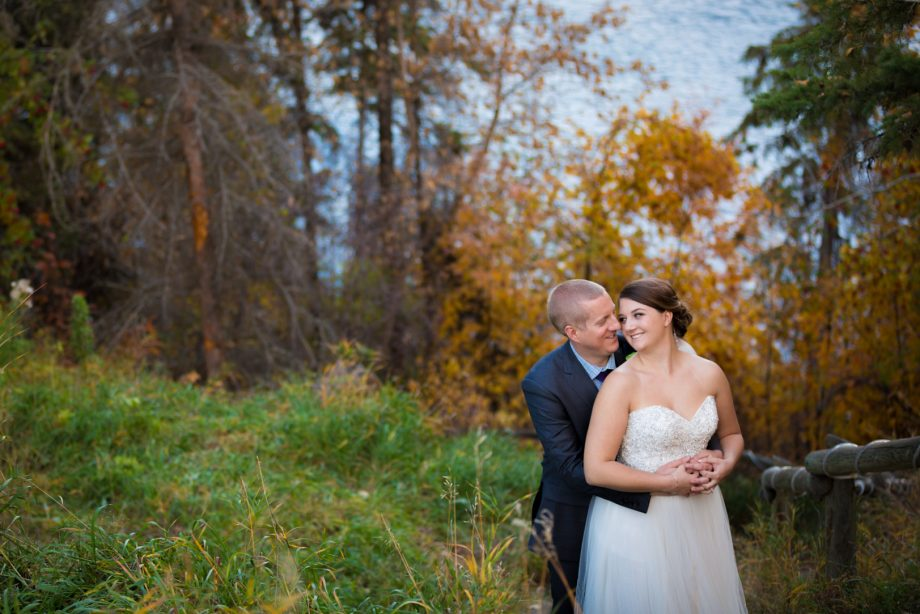 Red Deer Autumn Wedding – Ian & Kamera