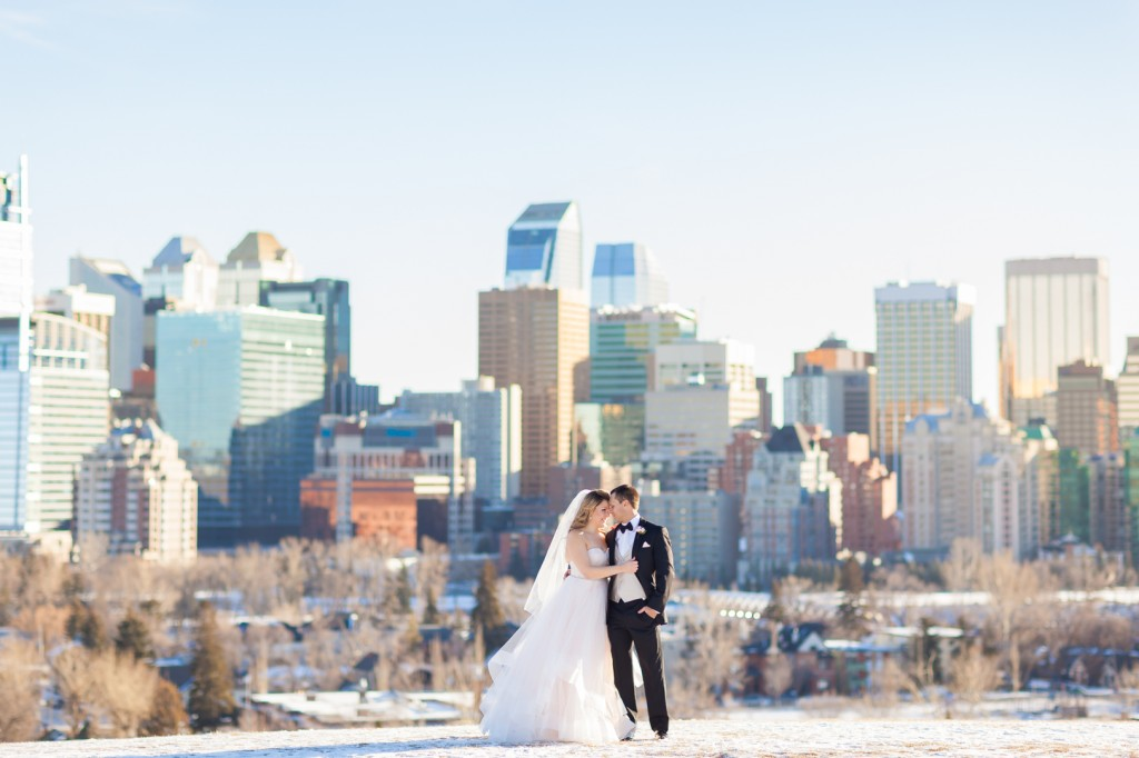 Calgary Winter Wedding