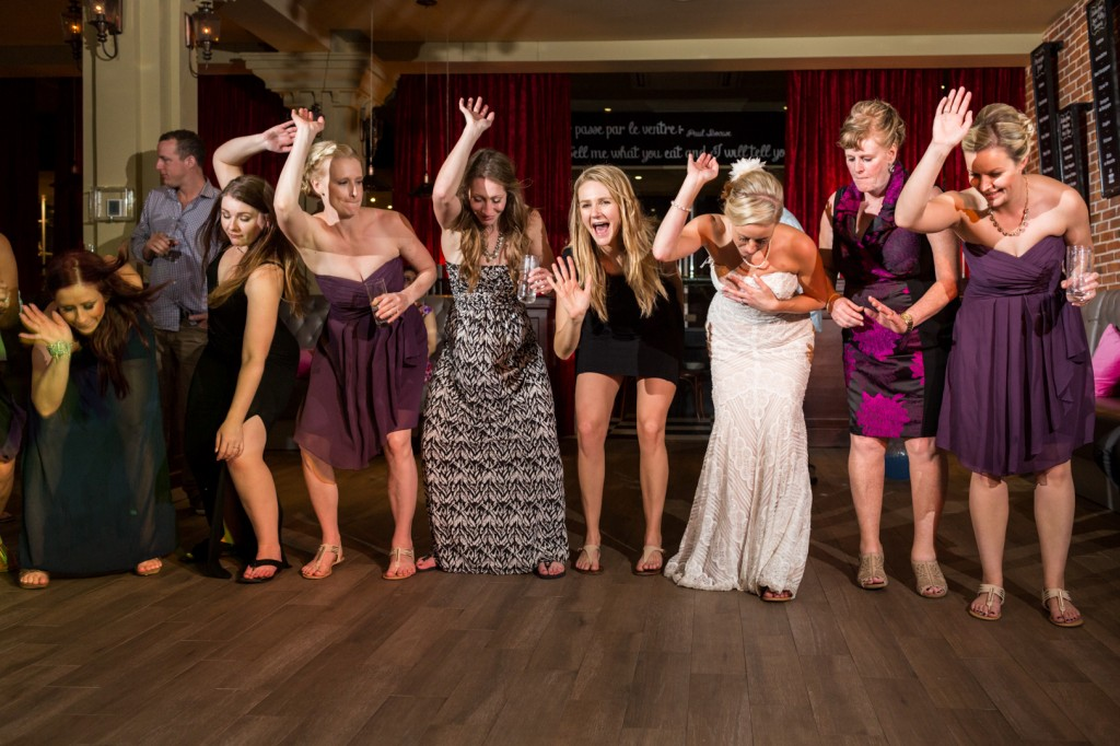 Destination Wedding Dance Party