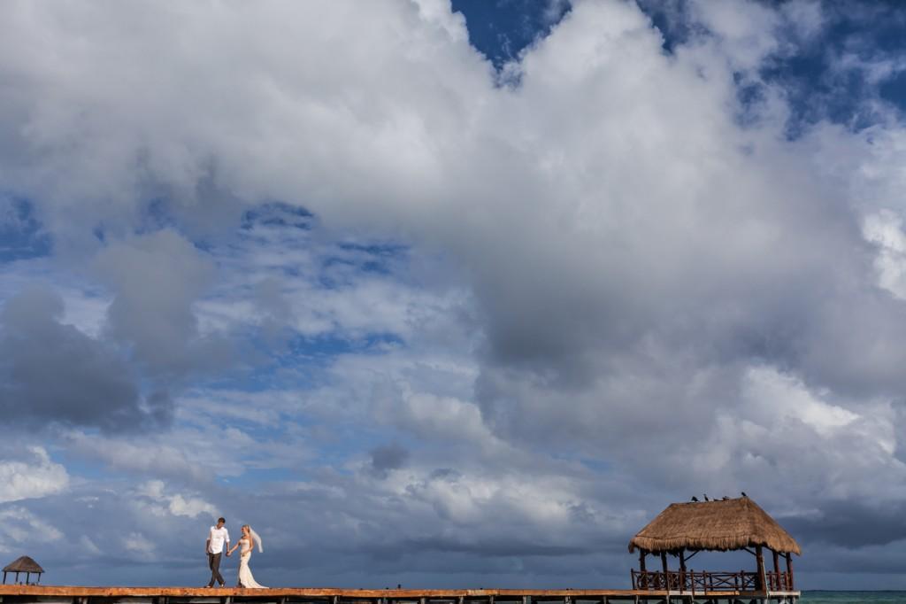 Wedding at Azul Fives Resort