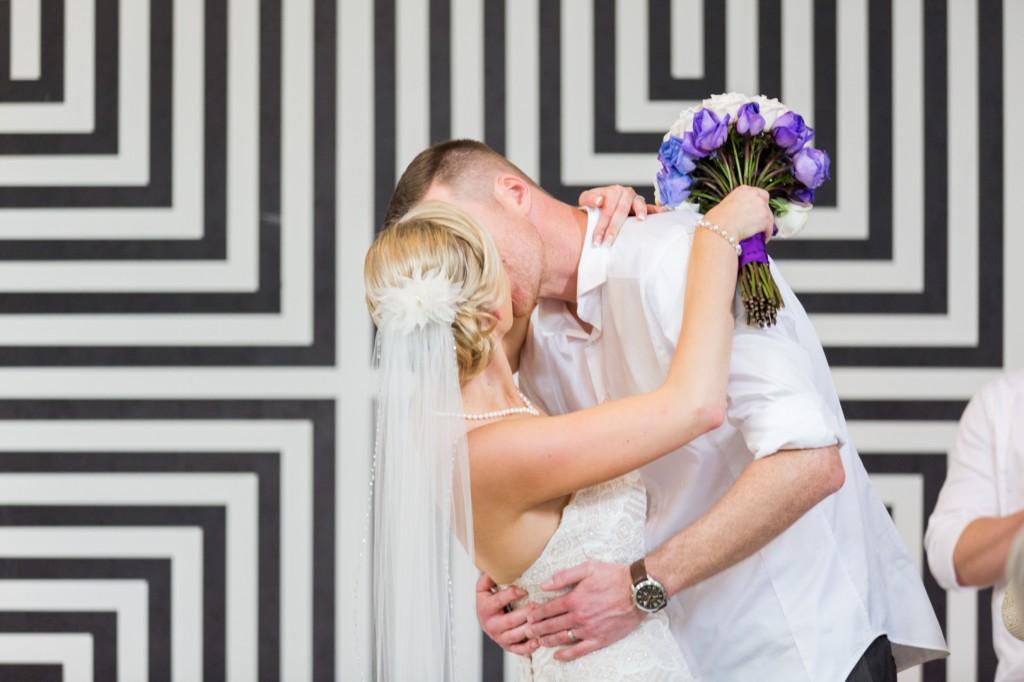 Indoor Destination Wedding Ceremony