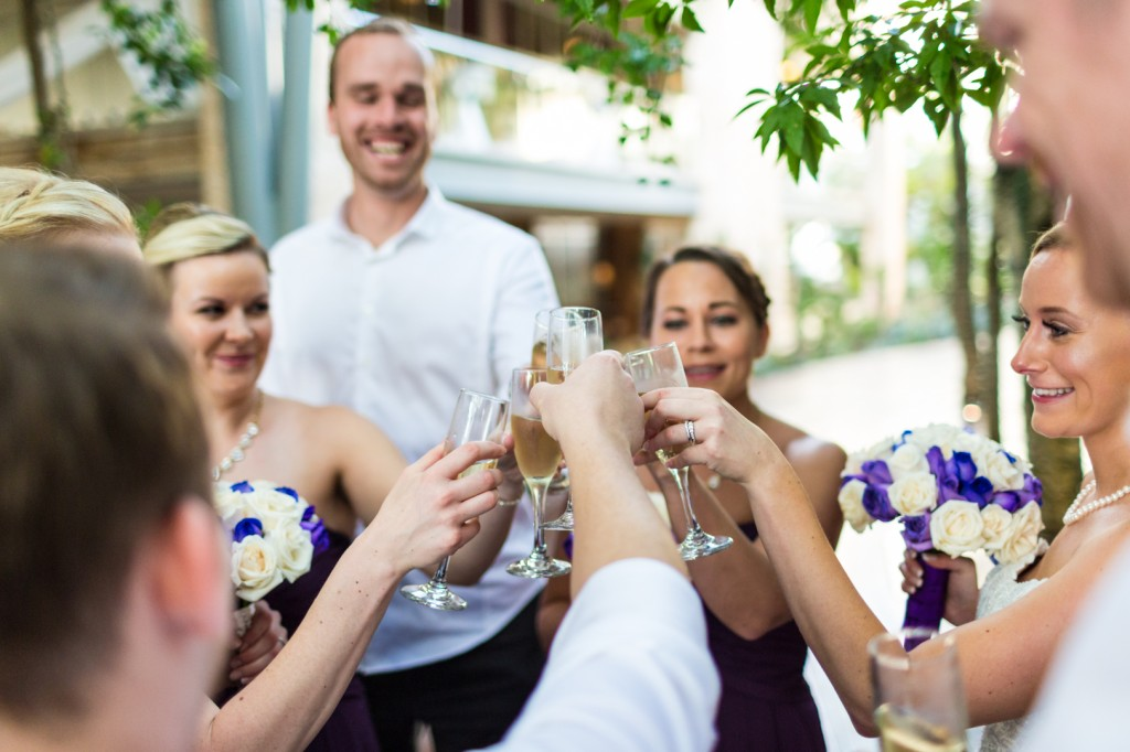 Azul Fives Champagne Reception