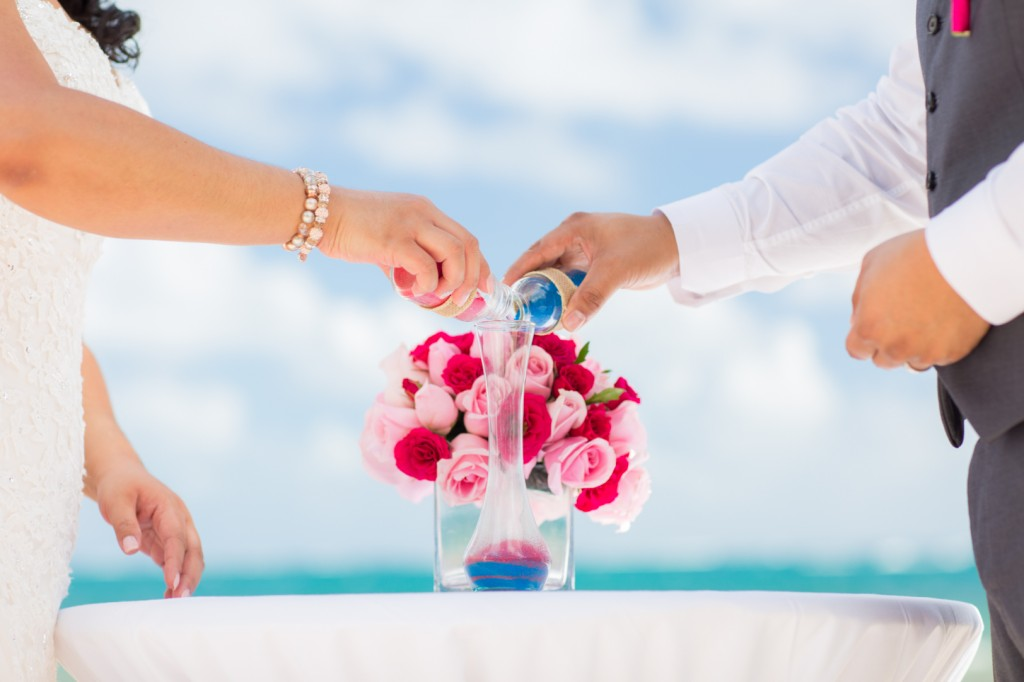 Sand Ceremony Destination Wedding