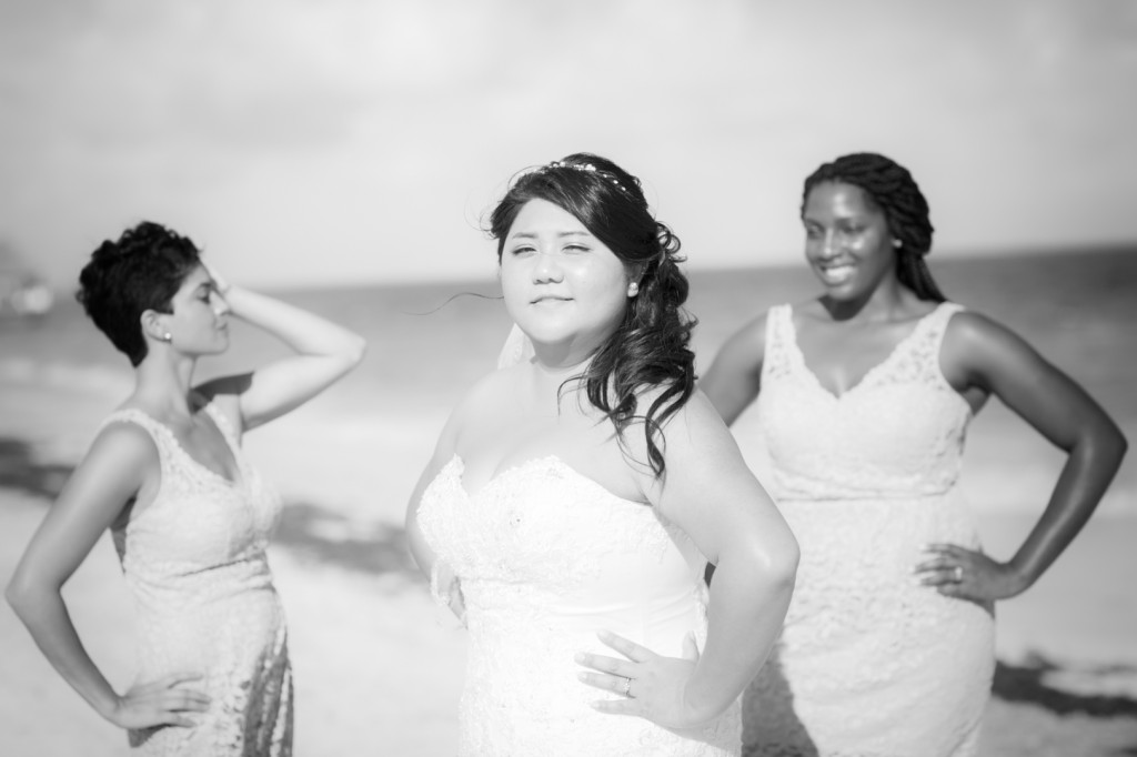 Dramatic Bridesmaids Photos