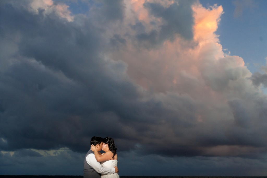 dreams cancun destination wedding portraits