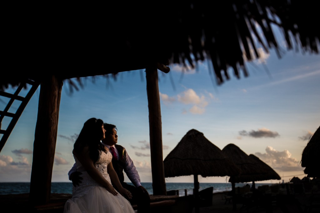 dreams cancun destination wedding photos