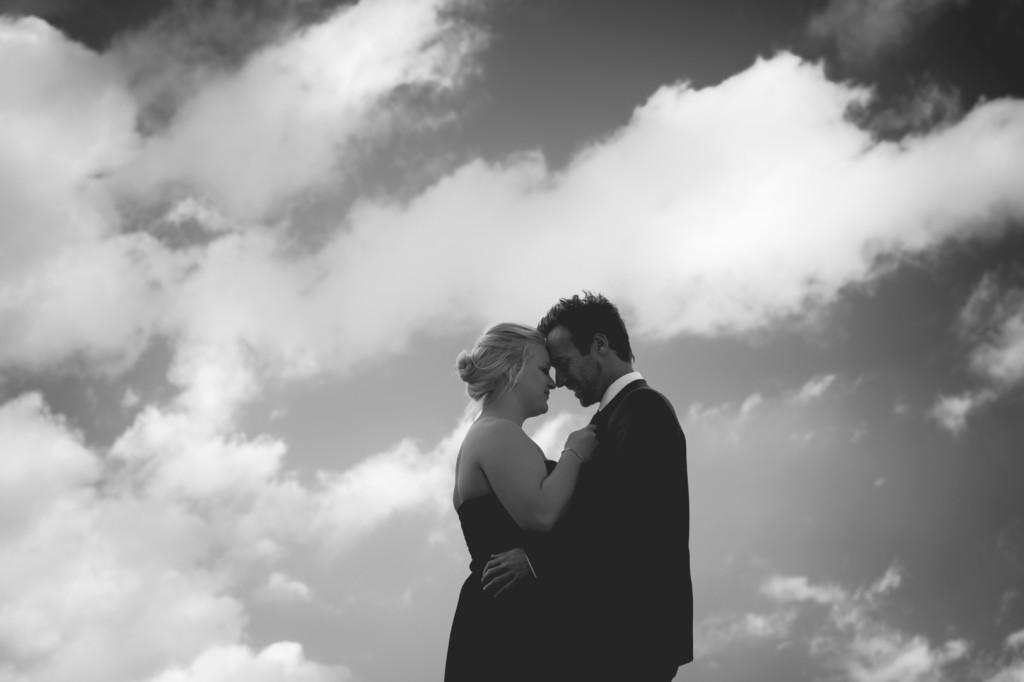 Romantic mountain engagement photos
