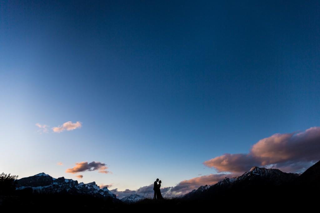 Sunset Mountain Engagement