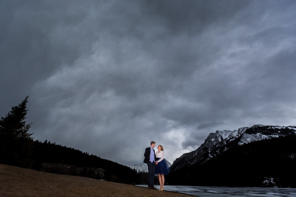 Two Jack Lake Engagement