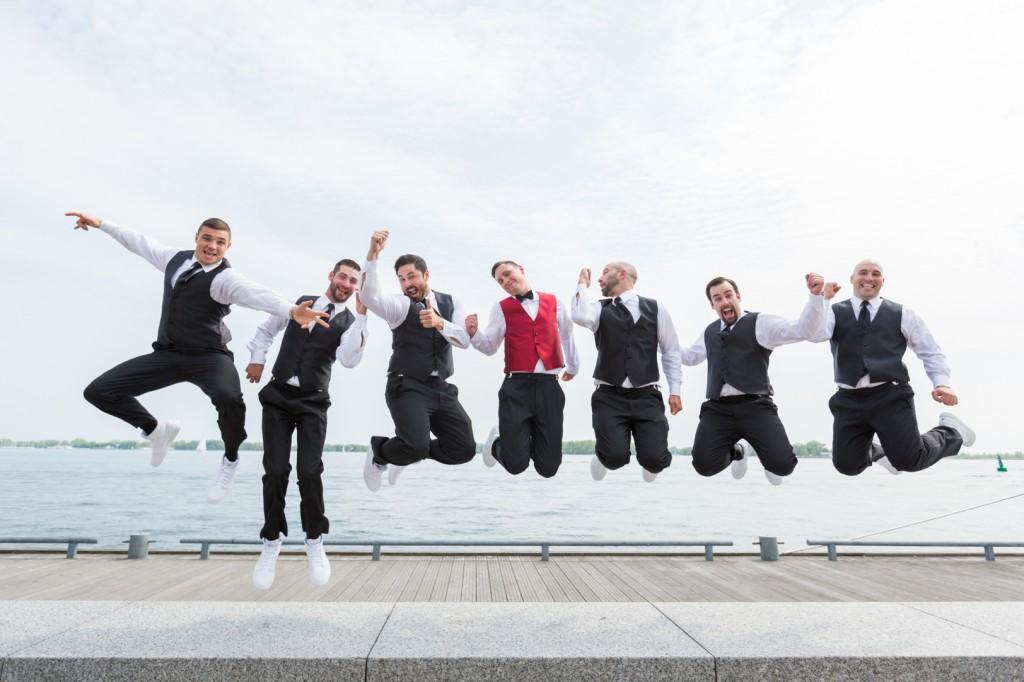 Toronto Lake Wedding Photos