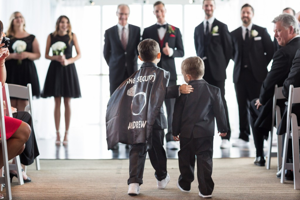Cute Ring Bearer Costume From An Atlantis Pavilion Wedding In Toronto