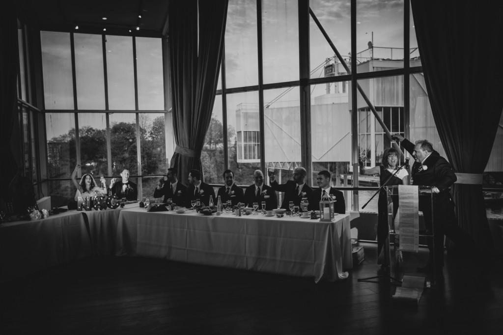 Downtown Toronto Wedding Reception