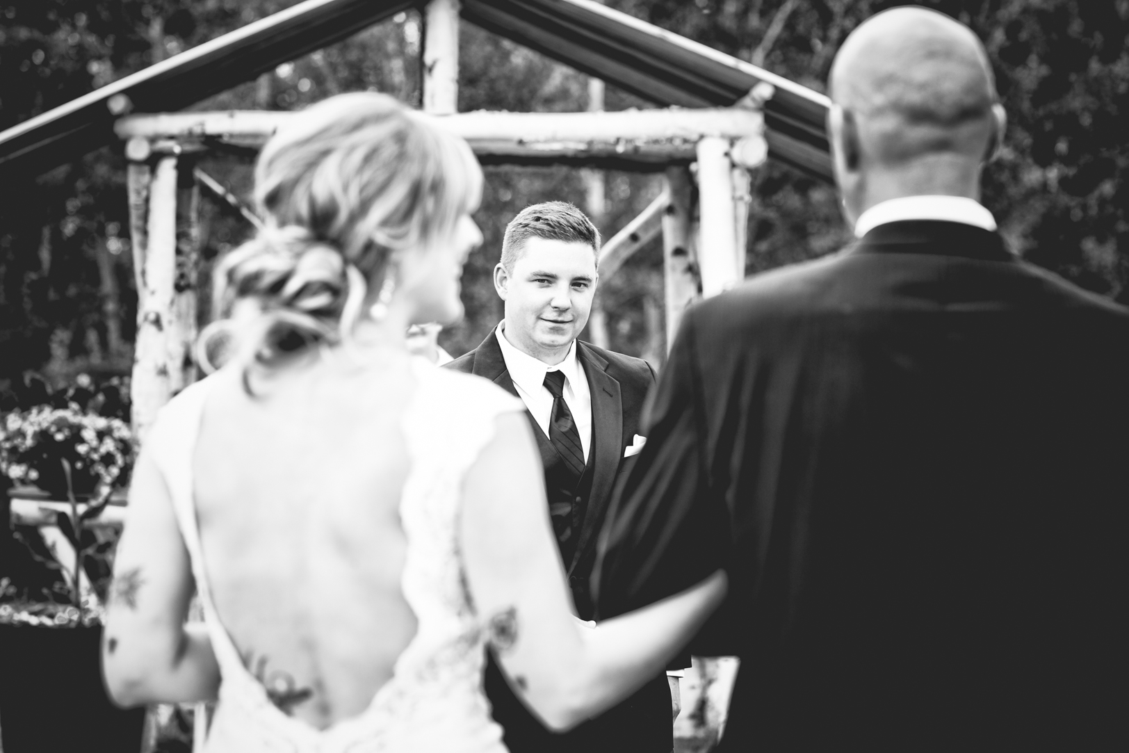 Country Wedding Outdoors