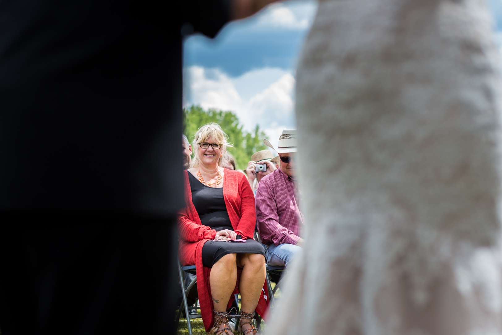 Photo of Parents During the Wedding Ceremony