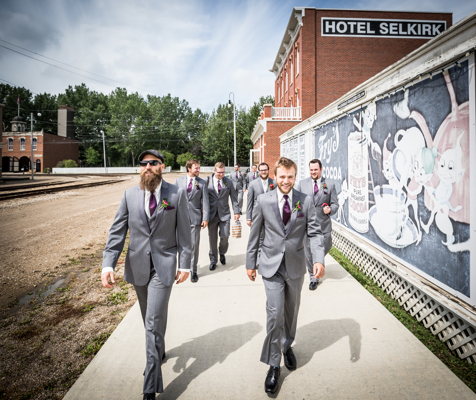 Fort Edmonton Park Wedding Photos
