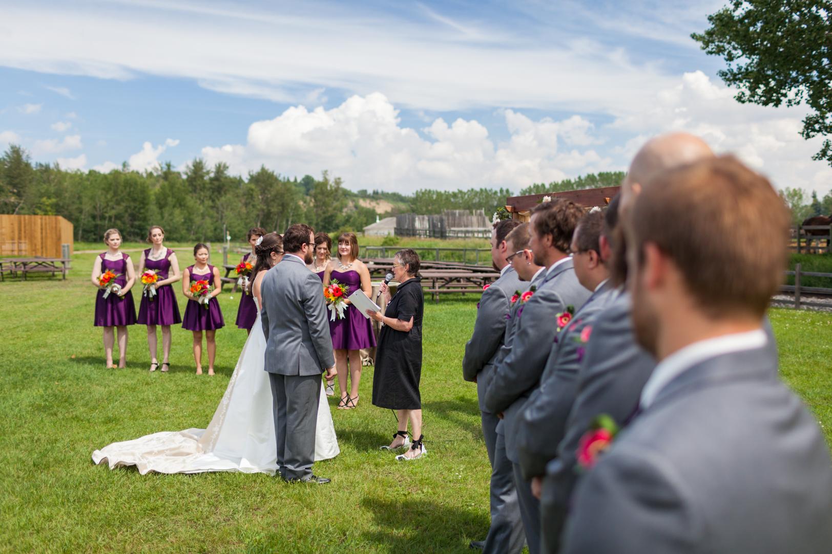Wedding Outdoors Blanchford Hangar
