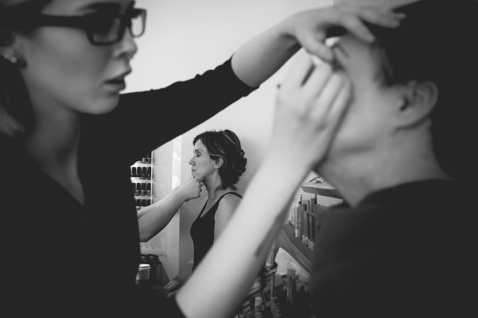 Photo of Bridesmaids Getting Ready