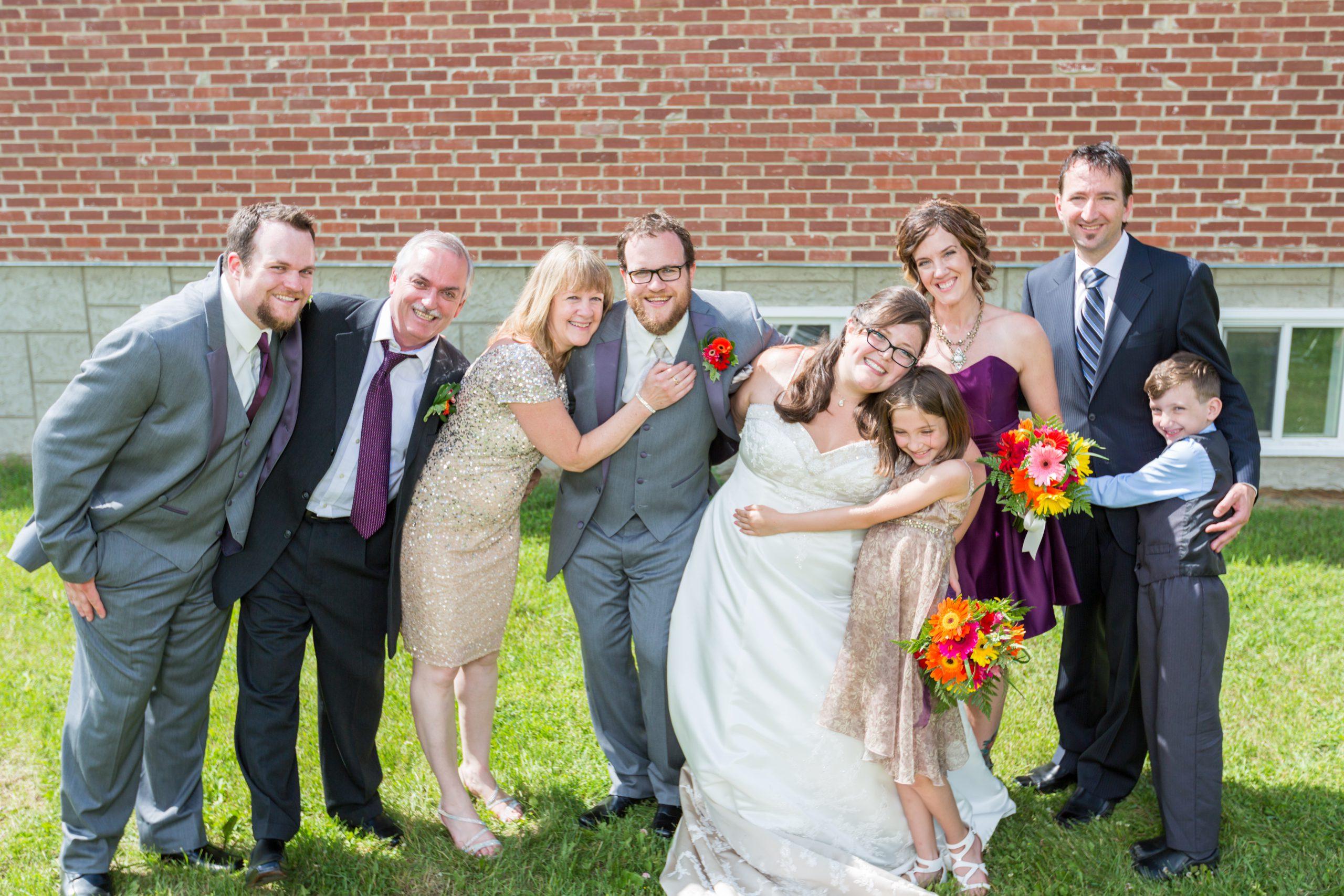 Fort Edmonton Park Wedding Family Photos