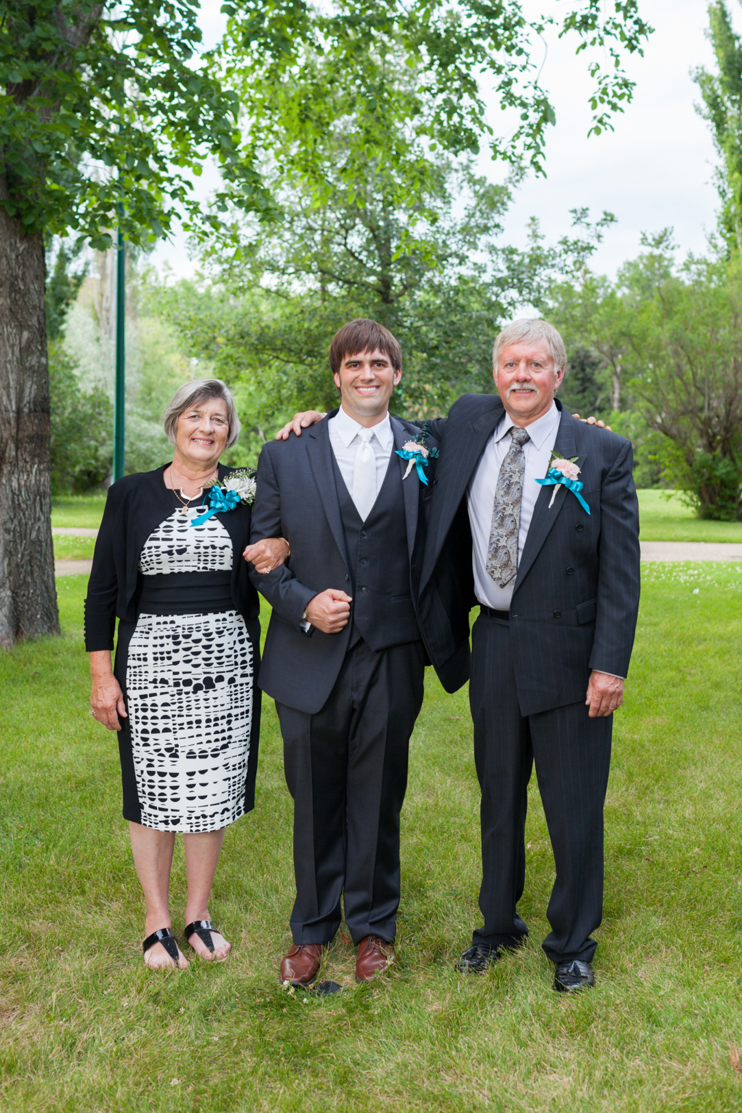 Photo of Groom and His Parents
