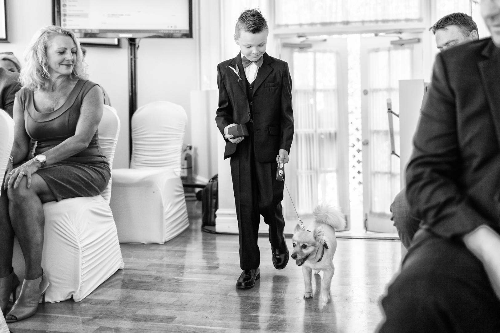 Hotel MacDonald Wedding Ceremony