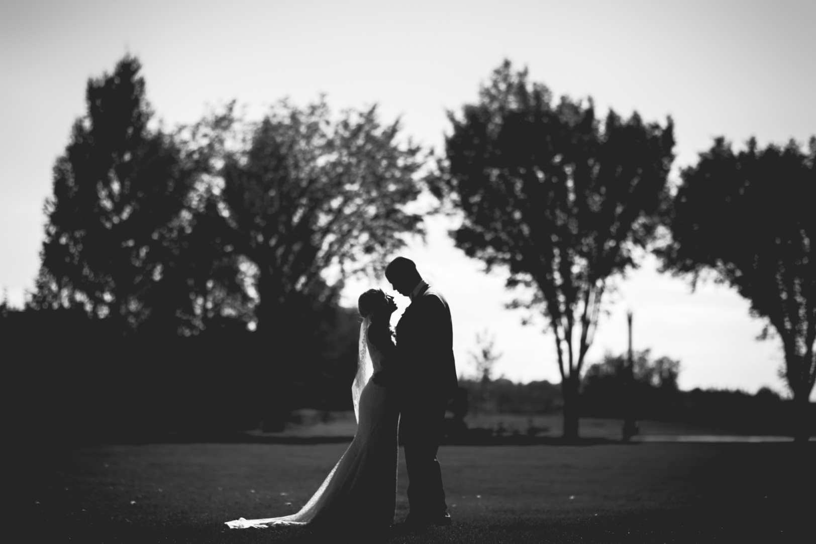 Outdoor Wedding Portraits Edmonton