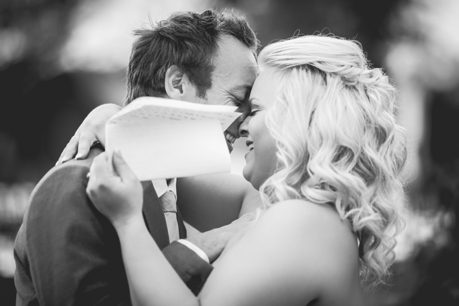 elegant country wedding edmonton - bride and groom first look