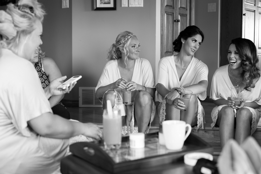 Elegant Country Wedding Edmonton - Bridesmaids.