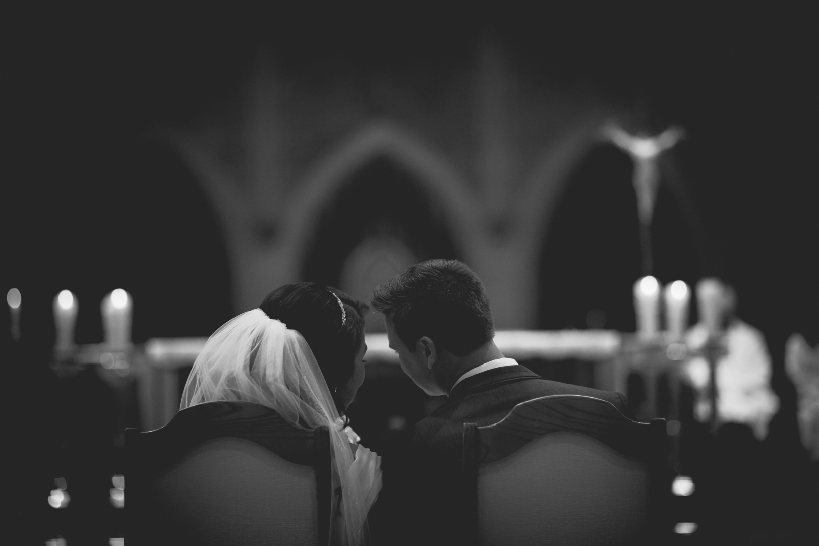 Elegant Edmonton Basilica Wedding - Edmonton Catholic Wedding Ceremony.