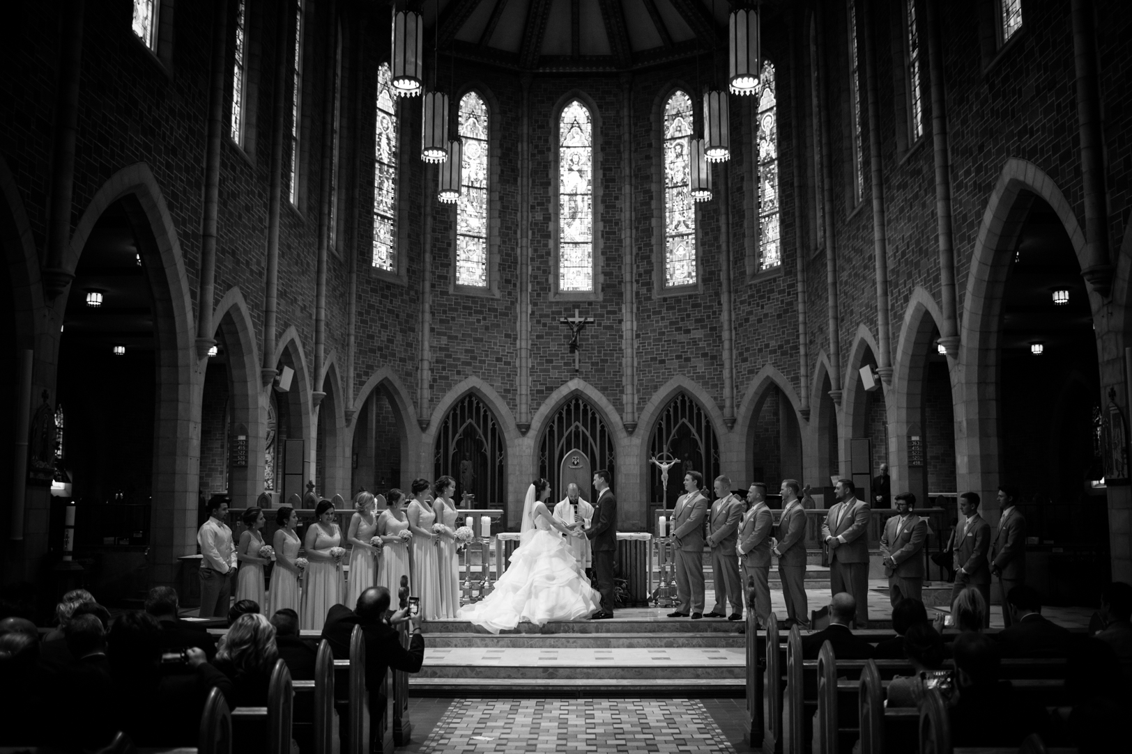Basilica Wedding Photos