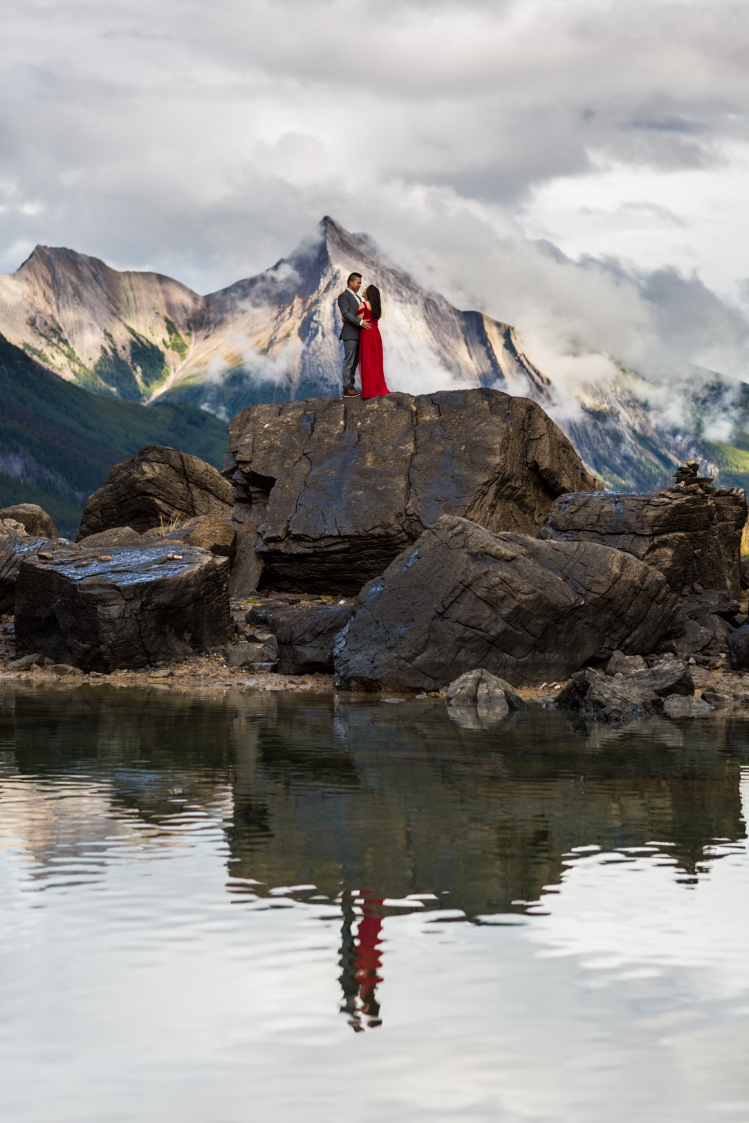 Formal Engagement Photos in Jasper