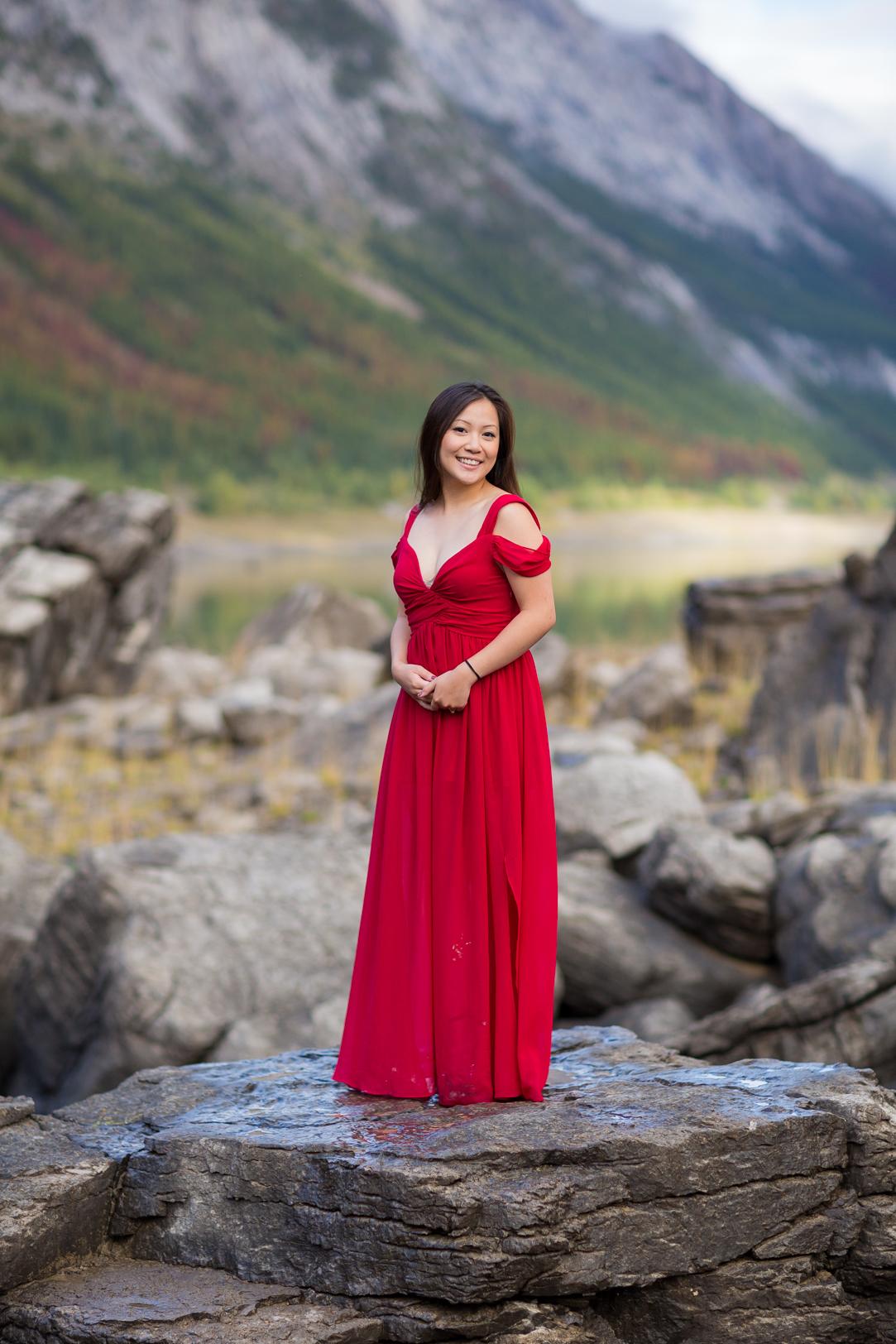 Mountain Engagement Portraits
