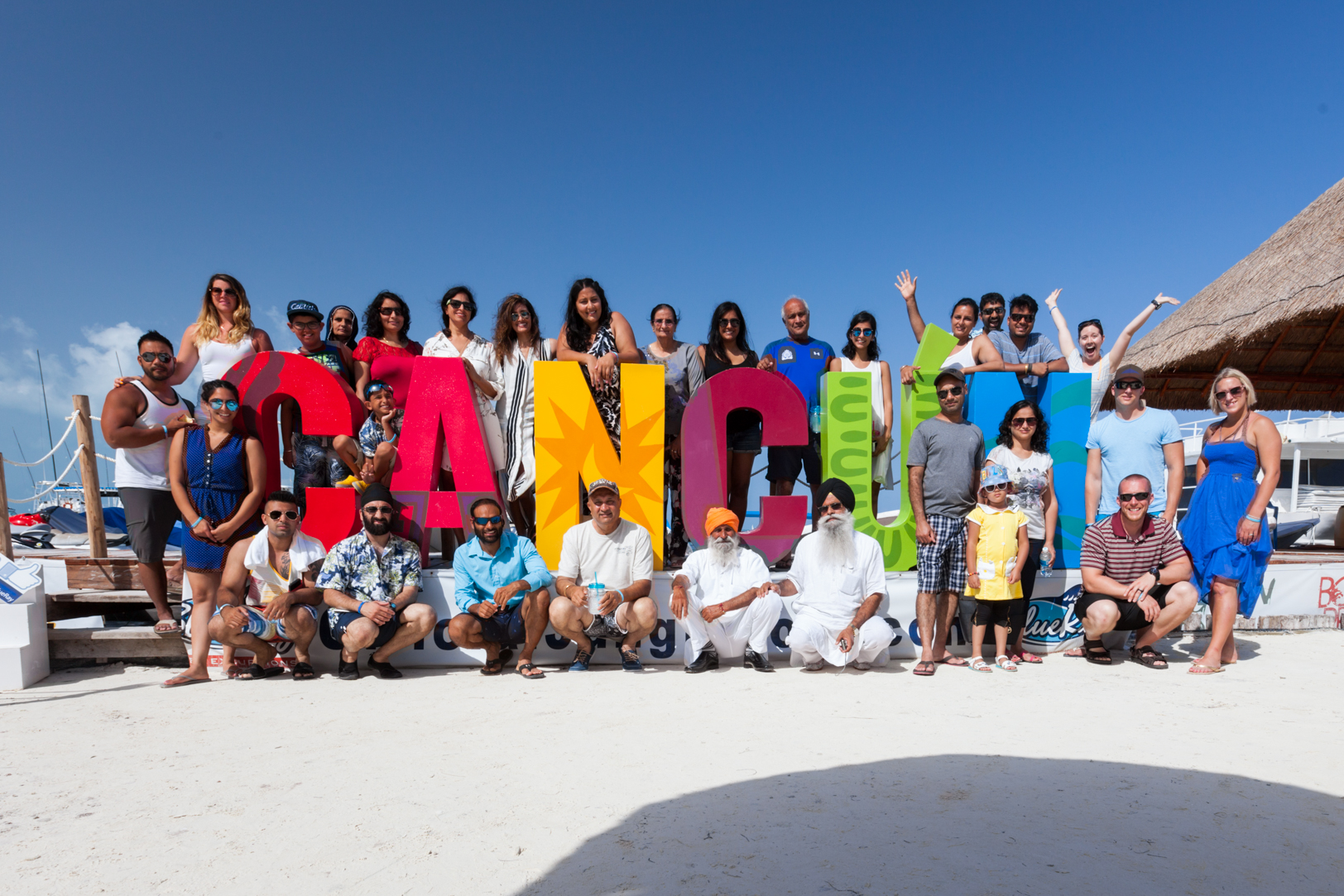 Indian Destination Wedding in Cancun Picture