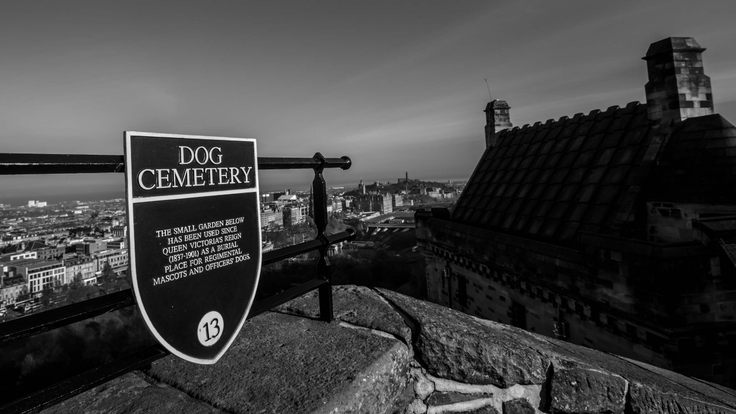 Picture Taken While Exploring Edinburgh - dog cemetery edinburgh castle