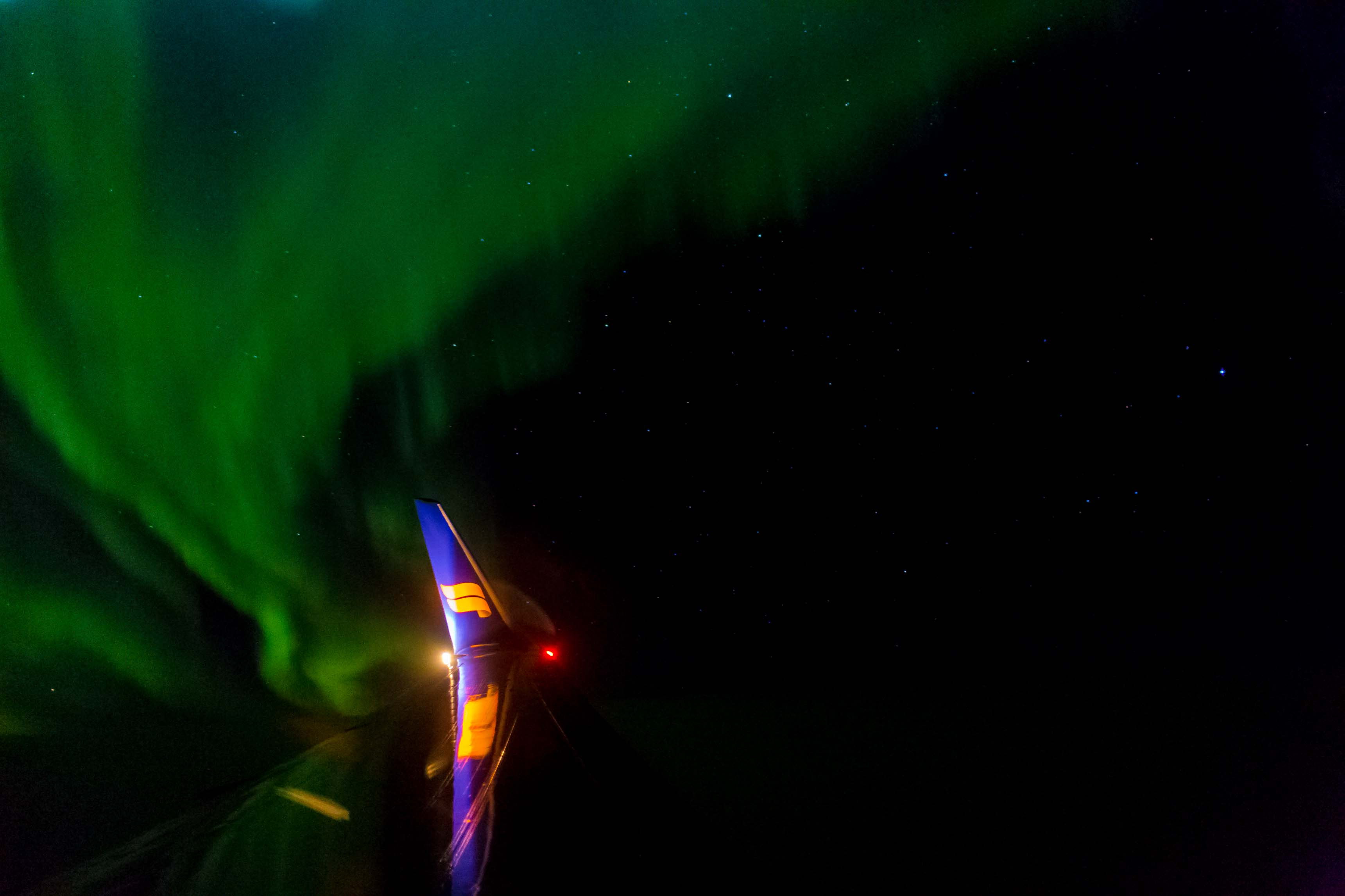 icelandair stopover northern lights