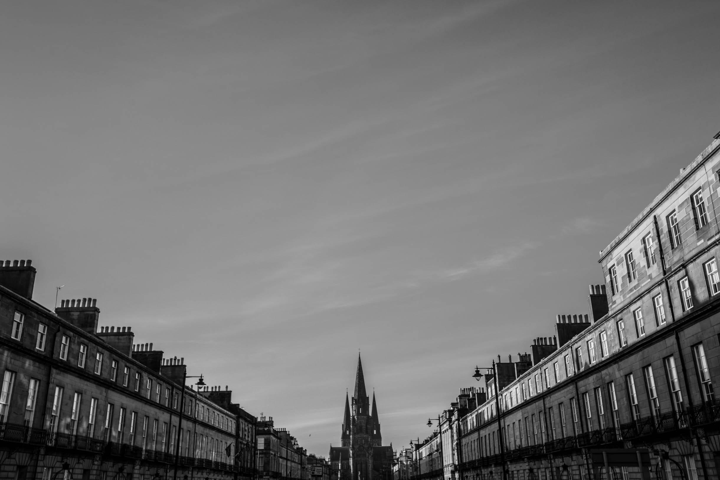Picture Taken While Exploring Edinburgh - Cathedral in Edinburgh