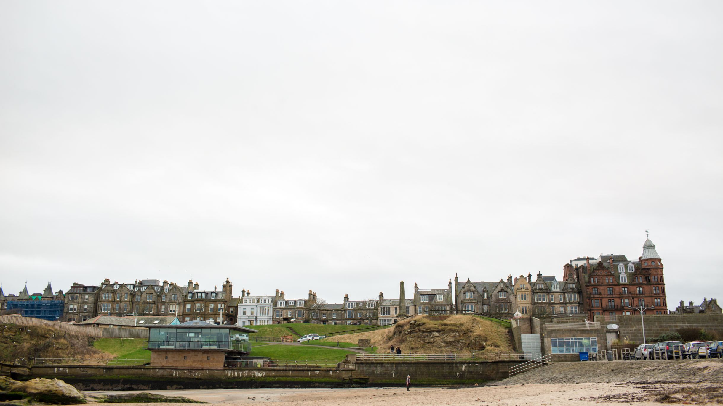 view of st. andrews scotland