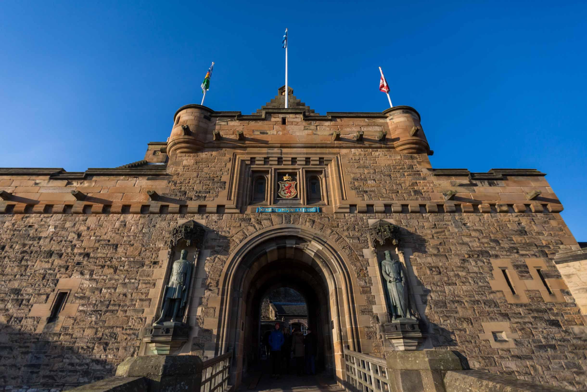 Picture Taken While Exploring Edinburgh - edinburgh castle