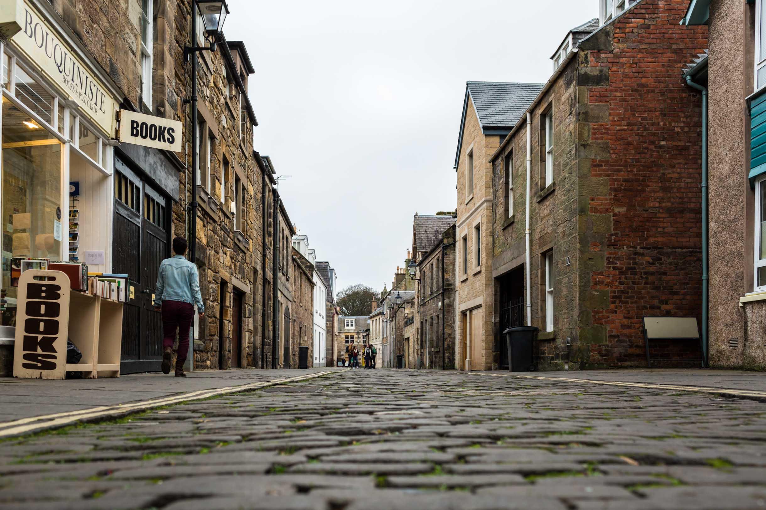 St. Andrews Scotland walking