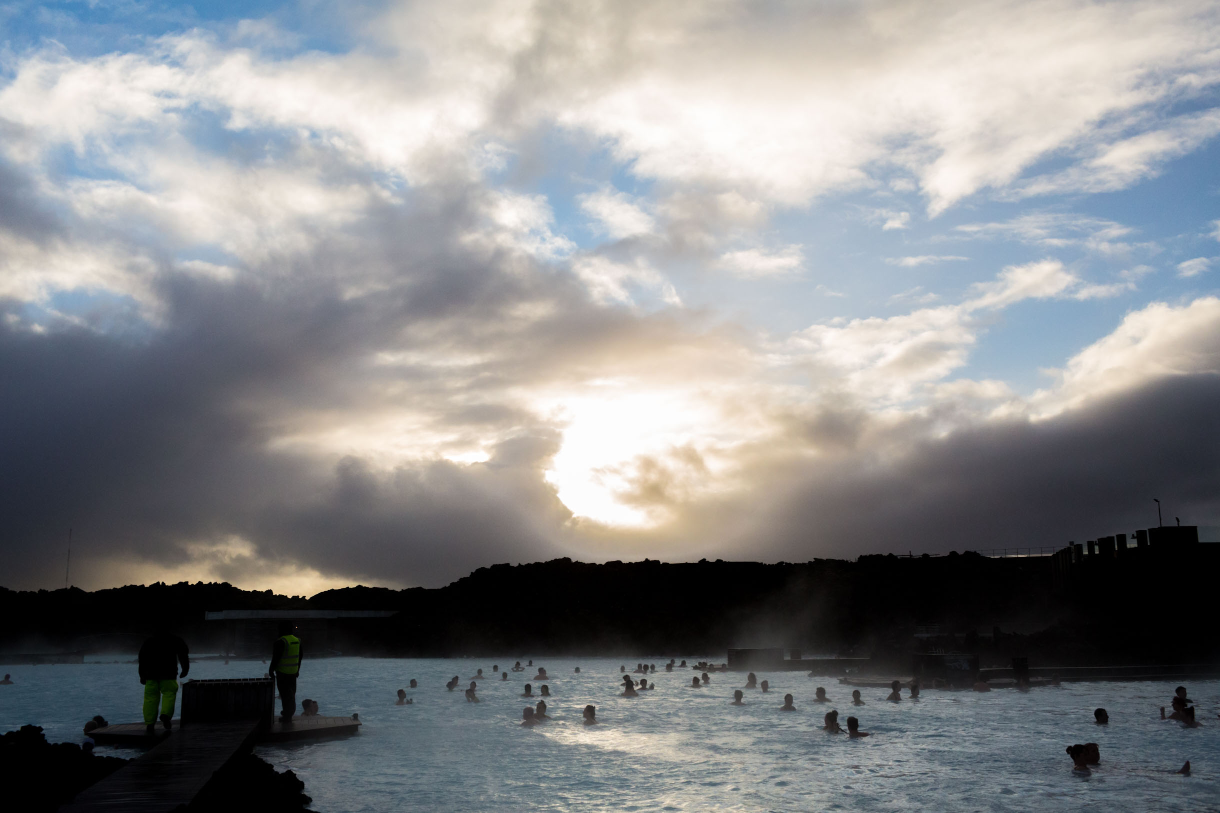 loving life at the blue lagoon iceland