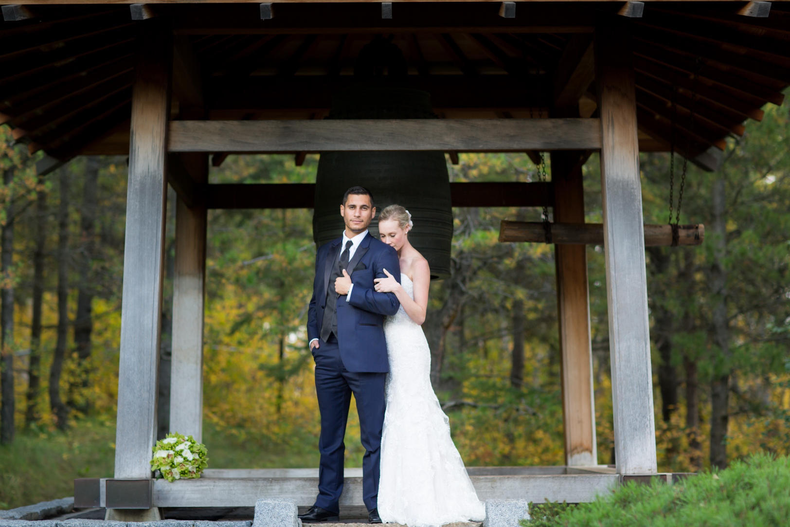 Wedding pictures from U of A Devonian Botanic Gardens