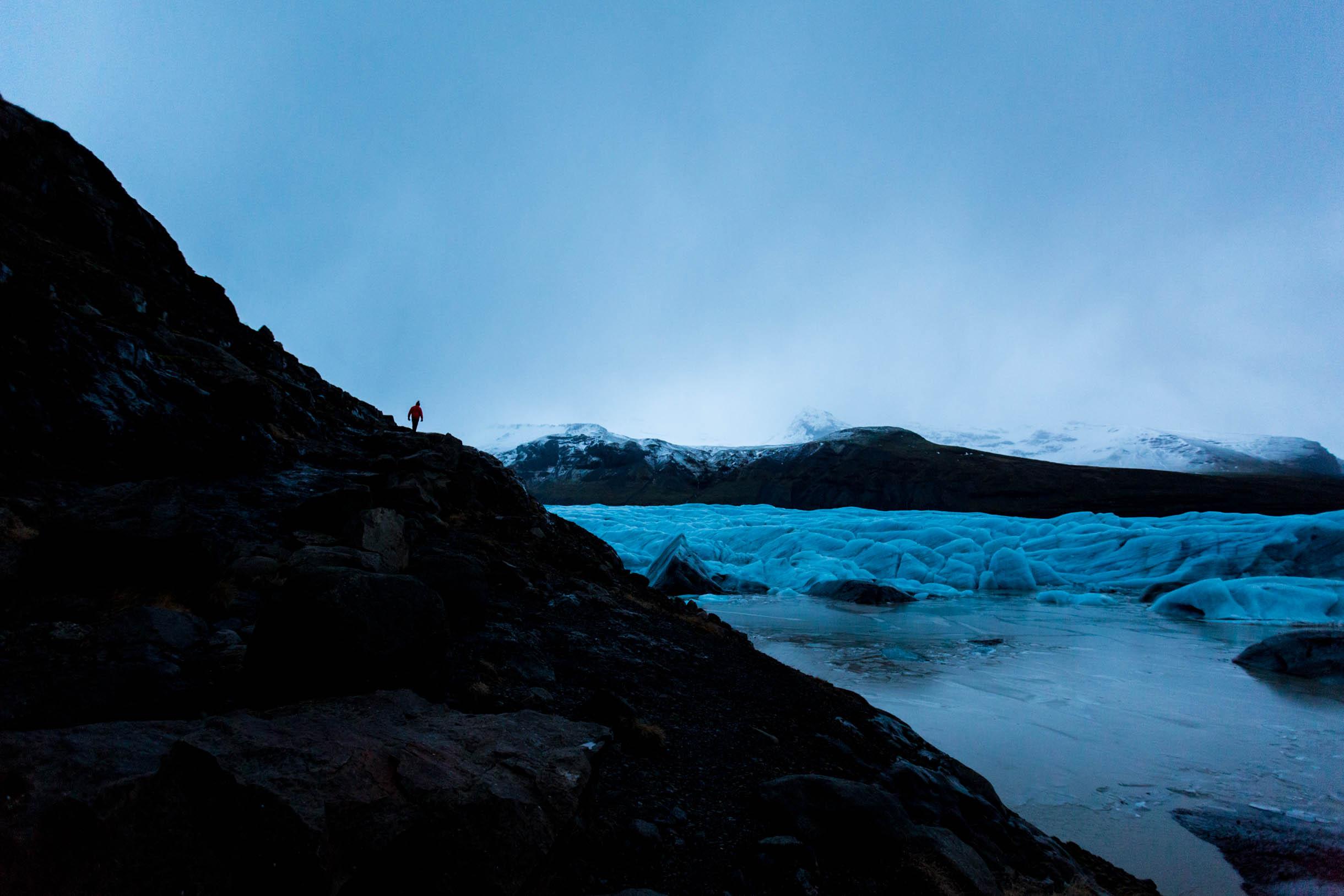 svínafellsjökull glacier lagoon