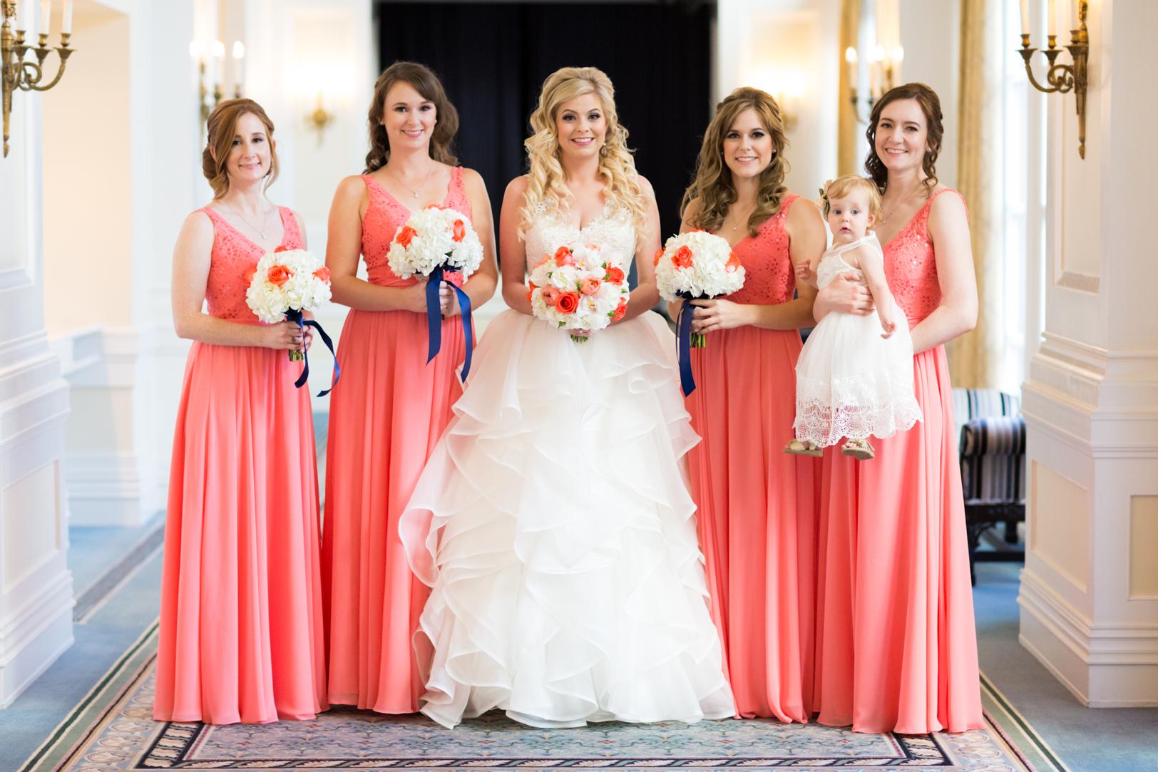 wedding photos at hotel macdonald