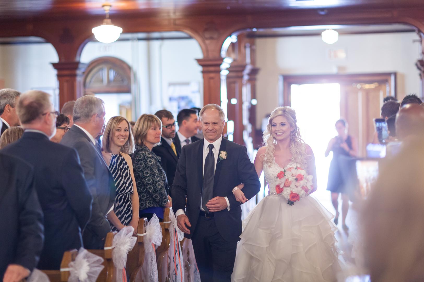 wedding procession photos