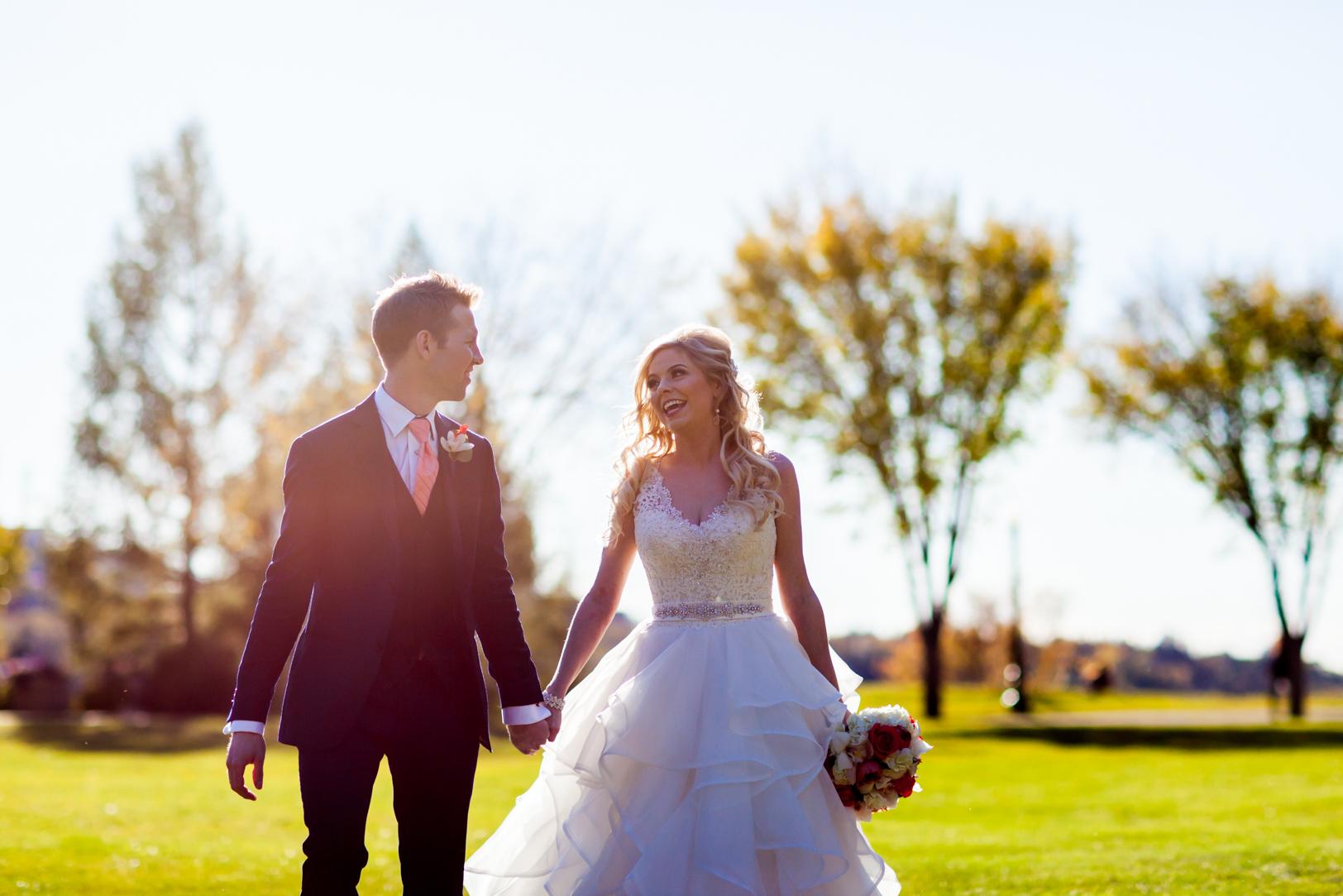 Bride and Groomsmen Photos