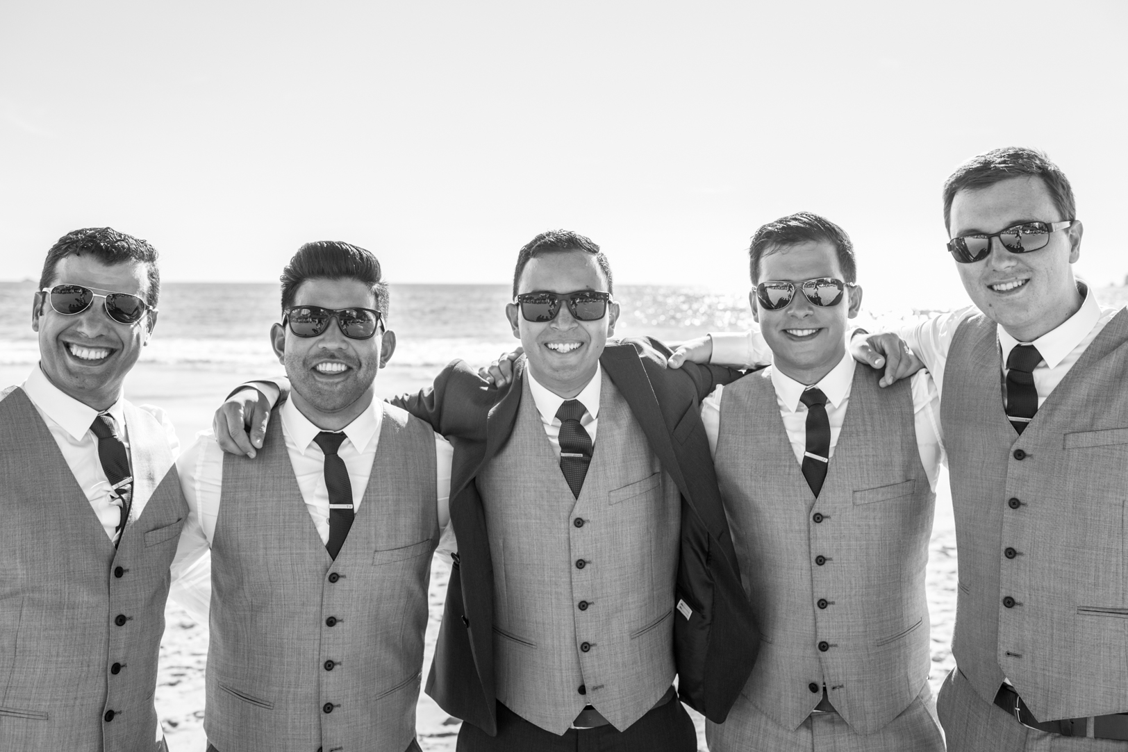 Picture of groomsmen at the Sunscape Dorado Pacifico Ixtapa destination wedding