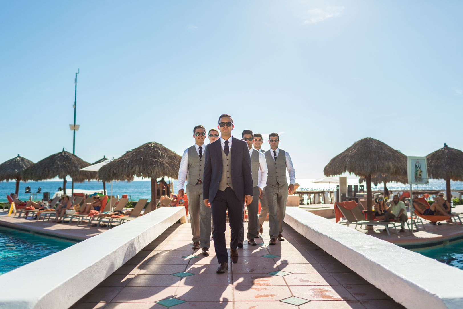groosmen photos at Sunscape Dorado Pacifico Ixtapa destination wedding